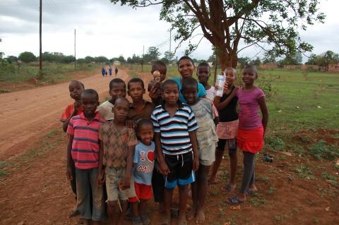 モザンビークの子どもたち