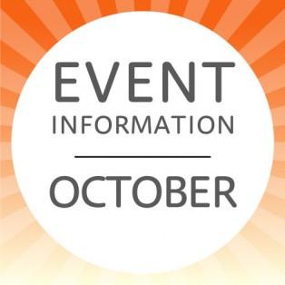 10月のイベント情報